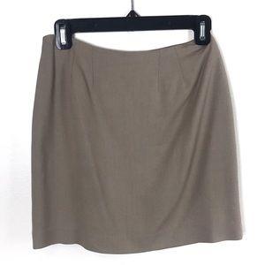 J'Envie Sport Mini Skirt Vintage Tan Size 4